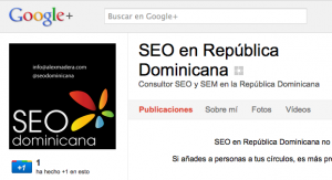 seodominicana en google+