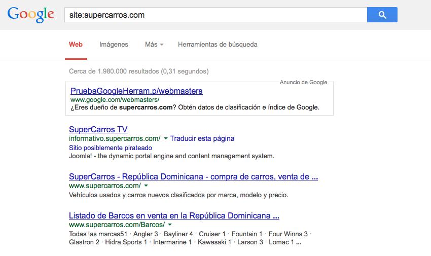 supercarros en google